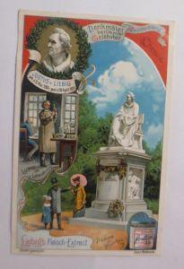 Liebig, Serie 554, Denkmäler berühmter Gelehrter, Justus v. Liebig  ♥