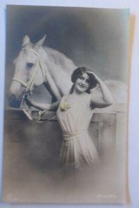 Frauen, Mode, Pferde,  1912 ♥ (30255)