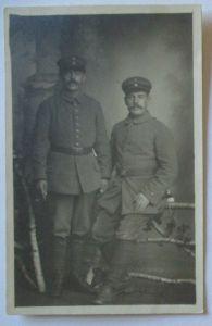 Deutsche Soldaten, Brüder ?, Fotokarte (33757)