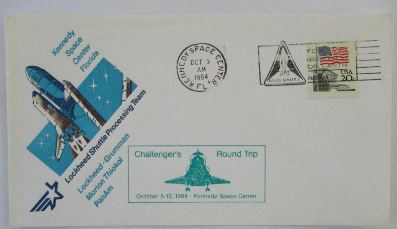 Weltraum Raumfahrt Space Shuttle 1984 &1423)