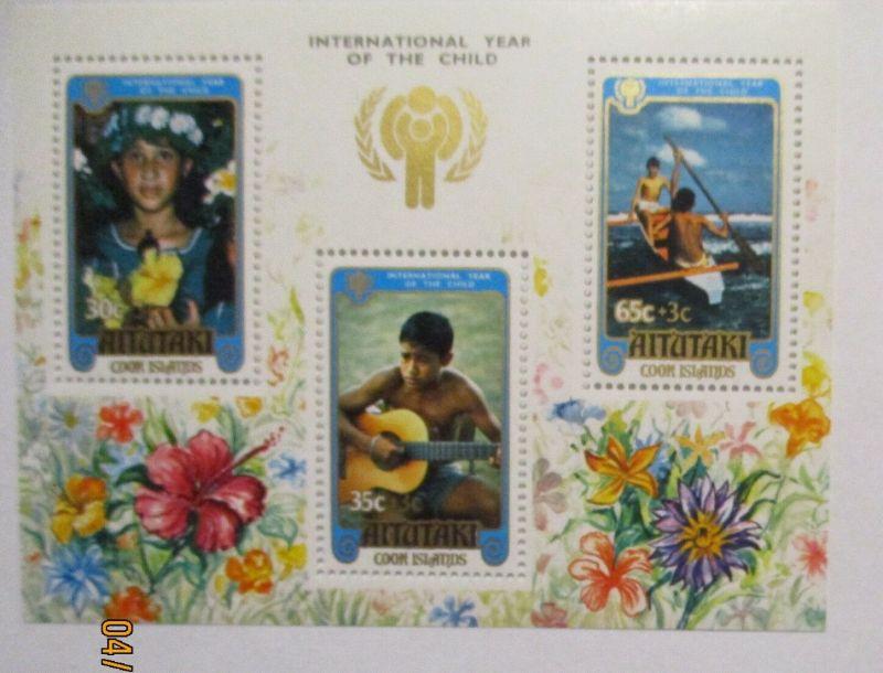 Aitutaki, Jahr des Kindes 1979, postfrischer Block (49327)