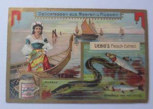 Liebig, Serie 588, Delicatessen aus dem Meeren u. Flüssen ♥  44081