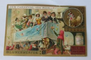 Liebig,  Serie 365, Der Carneval von Rom   ♥ 20941
