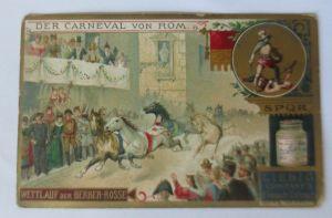 Liebig,  Serie 365, Der Carneval von Rom   ♥ 42208