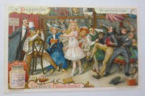 Liebig, Serie 714, Die Puppenfee,  Nr.3 ♥