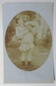 Kinder, Mode, Hund, 1909, Fotokarte ♥ (52072)