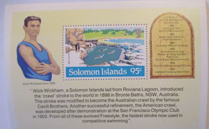 Solomon Islands, Alick Wickham Block xx (57421)