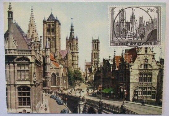 Belgien, Gent, Maximumkarte (49733)
