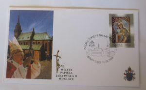 Papst Johannes Paul II.  Sonderbrief Polen 1999 ♥ 25056