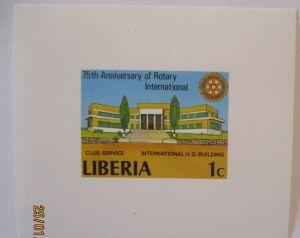 Liberia Block Rotary postfrisch (55690)