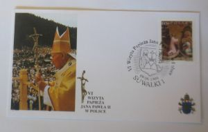 Papst Johannes Paul II.  Sonderbrief Polen 1999 ♥ 67788