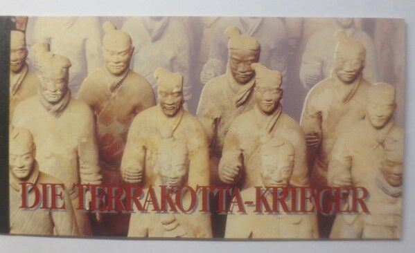 Vereinte Nationen 1997, Terakotta-Krieger Markenheftchen ♥ (33637)