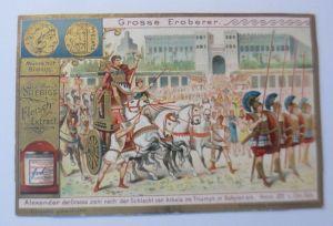 Liebig, Serie 562, Große Eroberer, Alexander der Große ♥