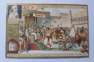 Liebig, Serie 562, Grosse Eroberer, Tutmosis III.  ♥