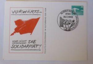 DDR Privatganzsache Vorwärts- und nicht vergessen Die Solidarität 1982 ♥ (72571)