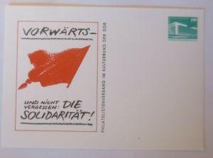 DDR Privatganzsache Vorwärts- und nicht vergessen Die Solidarität 1982 ♥ (72570)