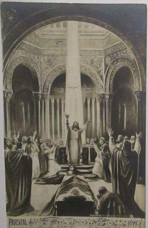 Musik Richard Wagner Parsifal , Höchsten Heiles Wunder ca. 1910 (49812)