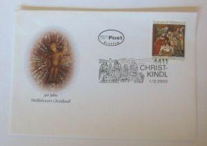 Österreich FDC Ersttagsbrief Chritkindl Sonderstempel 1983 ♥ (72647)