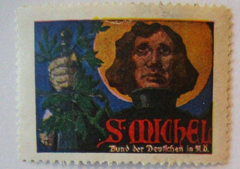 Ritter Schwert Michel, Vignette Bund der Deutschen postfrisch (42743)