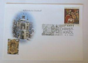 Österreich  Sonderstempel Chritkindl  6.1. 2001 Heilige Drei Könige ♥ (72642)