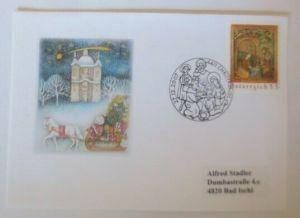 Österreich - Sonderstempel  Christkindl   27.12.2007 ♥ (72634)