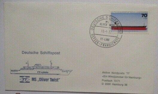 Deutschland Schiffspost MS Oliver Twist, Ostsee Fährdienst (39476)