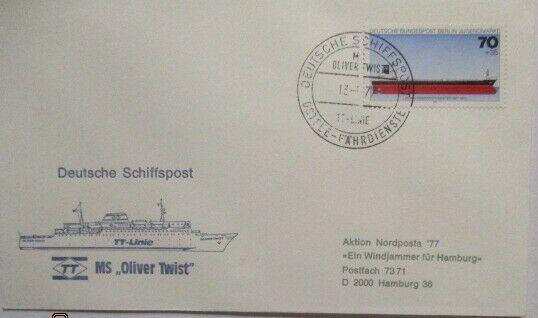 Deutschland Schiffspost MS Oliver Twist, Ostsee Fährdienst (33264)