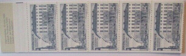 Schweden, Markenheftchen 5 Werte Postmuseum postfrisch (26068)