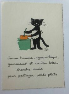 Katzen, Kochen,     1945, Biz  ♥