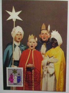 Weihnachten Heilige Drei Könige Sternsinger Maximumkarte 1983 (15500)