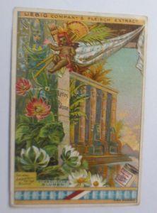 Liebig, Serie 258, Symbolische Blumen, Lotos Blume ♥