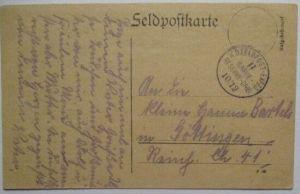Frankreich, Gebiet um Reims, Feldpost 2.Garde RD 10.12.1914 (32333)