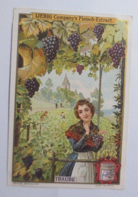 Liebig, Serie 463, Früchte,  Traube ♥