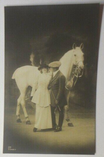 Pferde, Reiter,  1907 ♥ (43554)
