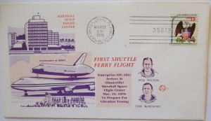 Weltraum USA NASA Space Shuttle First Ferry Flight 1978 (49945)