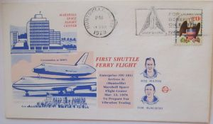 Weltraum USA NASA Space Shuttle First Ferry Flight 1978 (39287)