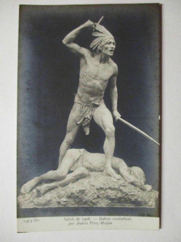 Indianer, Salon de 1906, Frankreich