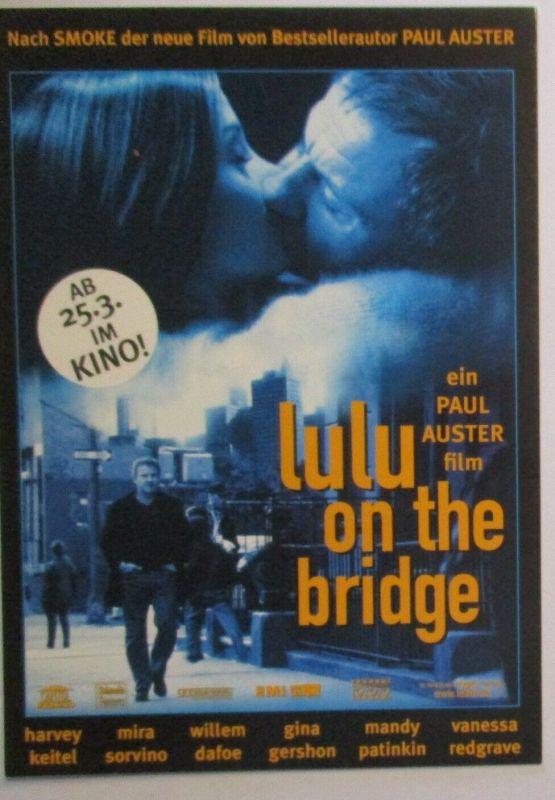 Film Kino, Lulu on the Bridge von Paul Auster, Tobis Filmkarte (26868)