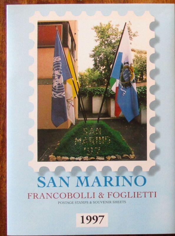 San Marino Jahrgang 1997 postfrisch komplett Jahresmappe