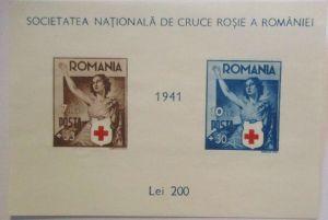 Rumänien Block 16 Rotes Kreuz 1941 ungebraucht wie verausgabt (31124)
