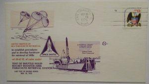 Raumfahrt USA NASA Space Shuttle Test Sea Parachute Retrieval 1976 (10743)