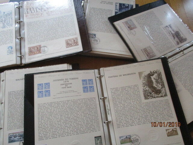 Frankreich France Frankreich Collection Historique 216 Blätter 70er Jahre