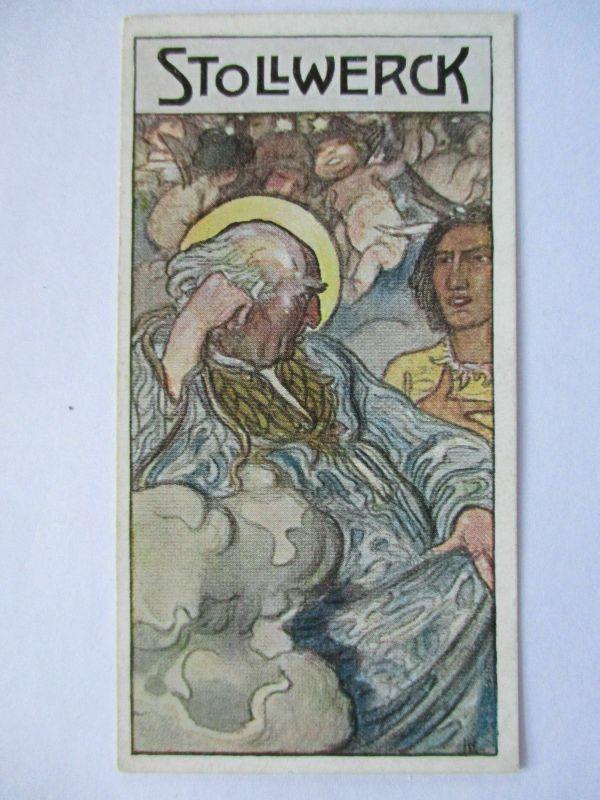 Stollwerck Sammelbild, Märchen, Indianer, Waupis Sohn