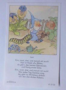 Sammelbild, Zwerge, Raube 10,5 cm x 6,5 cm  1950, Ida Bohatta ♥ (62282)