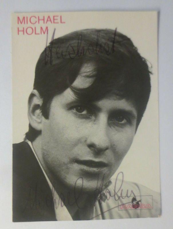 Autogramm  Michael Holm  Autogrammkarte Original Unterschrift  ♥ (57880)