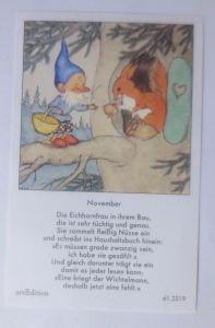 Sammelbild, Zwerge,   10,5 cm x 6,5 cm  1950, Ida Bohatta Morpurgo ♥ (62278)