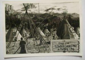 Freiburg, 11. Indianer Council 1961