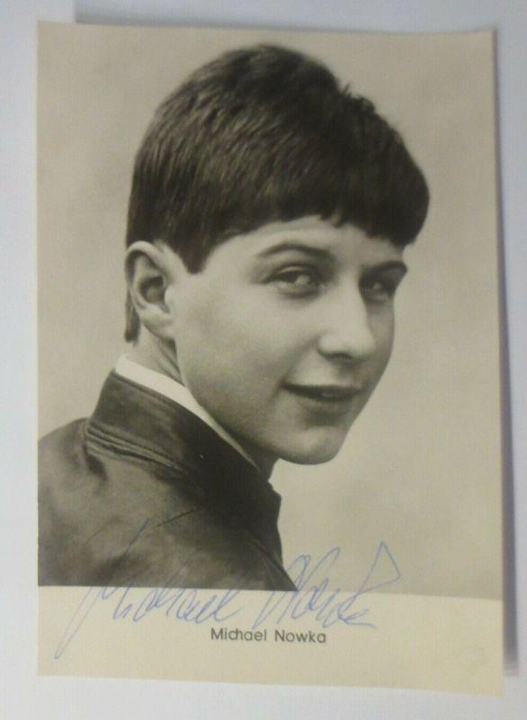Autogramm Michael Nowka  Autogrammkarte Original Unterschrift ♥ (57873)