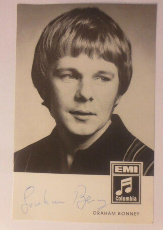Autogramm Graham Bonney  Autogrammkarte Original Unterschrift ♥ (40076)