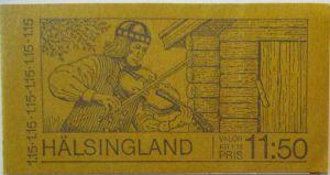 Schweden Markenheftchen Hälsingland postfrisch (66266)